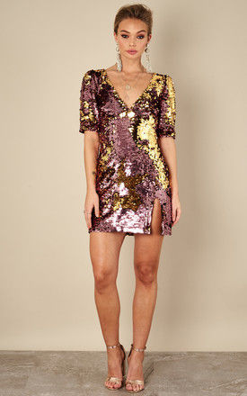 Dusty Rose Sparklers Party Dress by For Love And Lemons