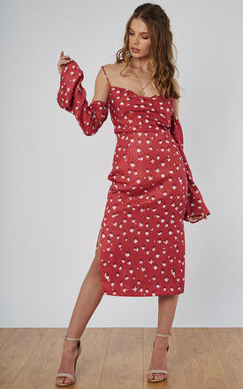 zephyr dress in ember spot by Finders Keepers