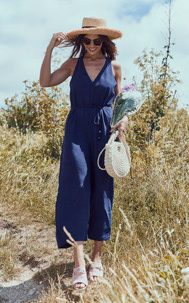 NAVY JUMPSUIT by If By Sea