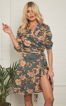 Buddy Floral Khaki by Never Fully Dressed