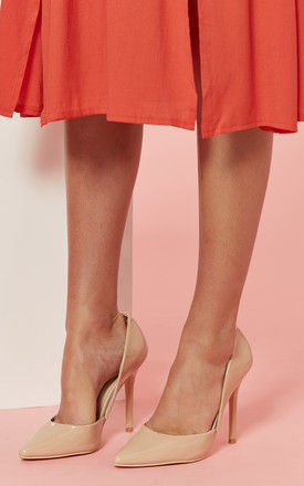 Nude Court Shoe by Glamorous