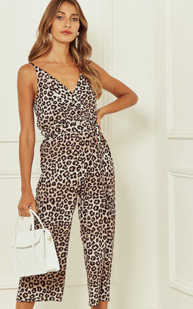 Leopard jumpsuit by Bella and Blue