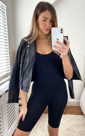 Cycling Shorts in Black by ONLY