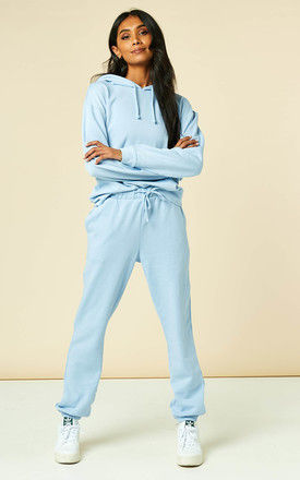 Mid Rise Joggers in Light Blue by VILA
