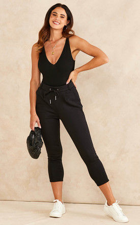 Smart Joggers in Black by ONLY