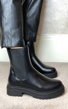 Chelsea Boots in Black by Truffle Collection