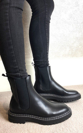 Chelsea Boots in Black by ONLY