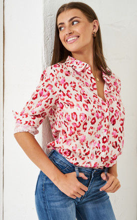 Pink Leopard Print Shirt by love frontrow