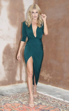 Dylan Dress Forest by Never Fully Dressed